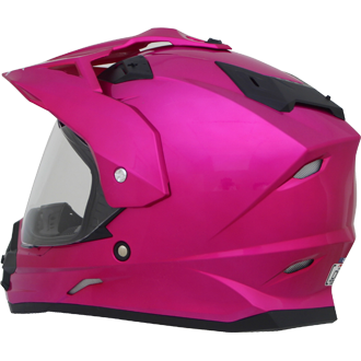 Kask AFX FX-39DS Multi Color Fuchsia