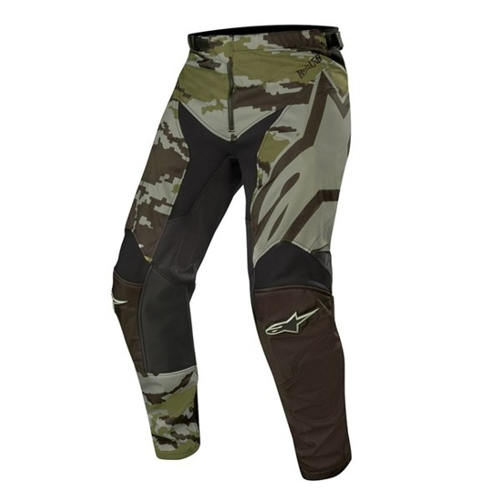 Spodnie ALPINESTARS RACER TACTICAL black/green camo 2019